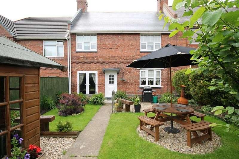 3 Bedrooms Terraced House for sale in Northside Buildings, Trimdon Grange,