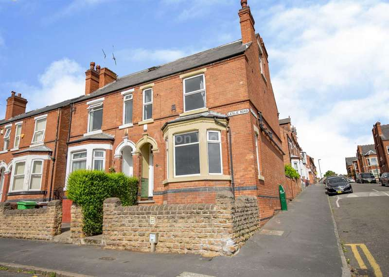 5 Bedrooms Semi Detached House for rent in Leslie Road, Forest Fields NG7 6PR