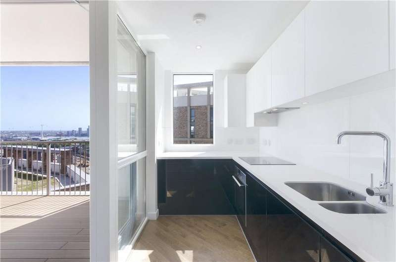 2 Bedrooms Flat for sale in Hallsville Quarter, Canning Town, London, E16