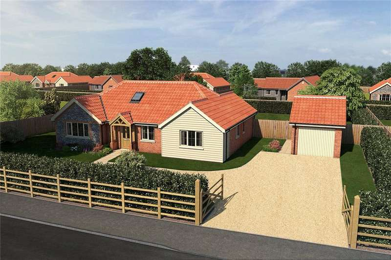 3 Bedrooms Detached Bungalow for sale in The Glade, Bridge Road, Guist, Dereham, NR20