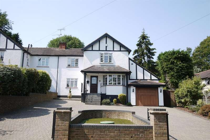4 Bedrooms Semi Detached House for sale in The Drive, Ponsbourne Park