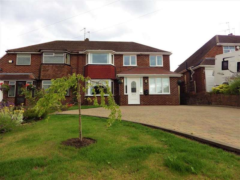 3 Bedrooms Semi Detached House for sale in Haswell Road, Halesowen