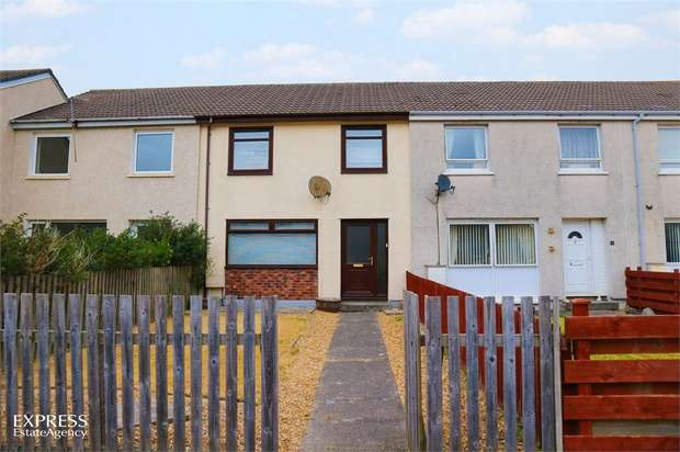 3 Bedrooms Terraced House for sale in Pine Quadrant, Girvan, South Ayrshire
