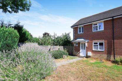 3 Bedrooms End Of Terrace House for sale in Chandlers Close, Marston Moretaine, Beds, Bedfordshire