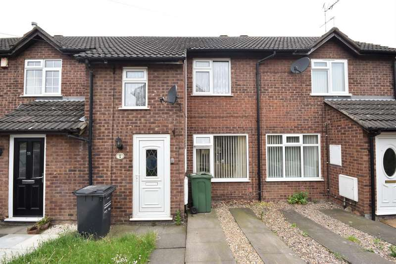 2 Bedrooms Terraced House for sale in Danvers Lane, Shepshed, Loughborough