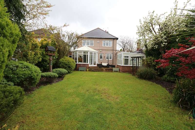 4 Bedrooms Detached House for sale in Manor Drive, Wirral, Merseyside, CH49 6JF