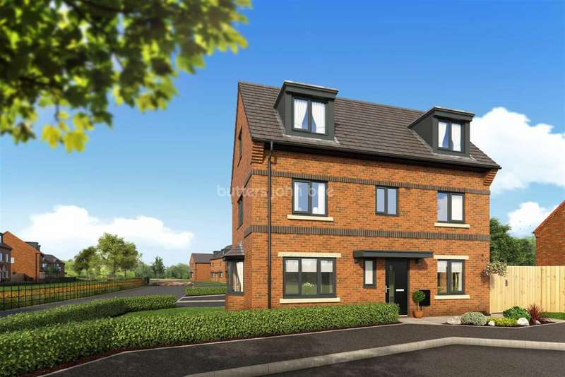 4 Bedrooms Detached House for sale in Woodford Grange, Winsford