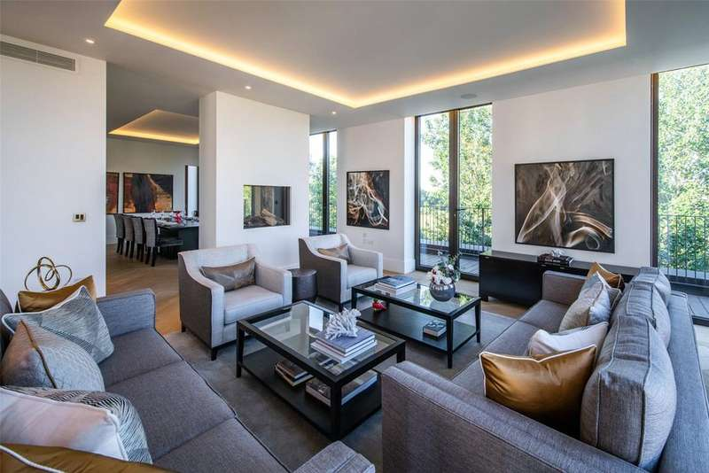 4 Bedrooms Apartment Flat for sale in St Edmund's Terrace, St John's Wood, London, NW8