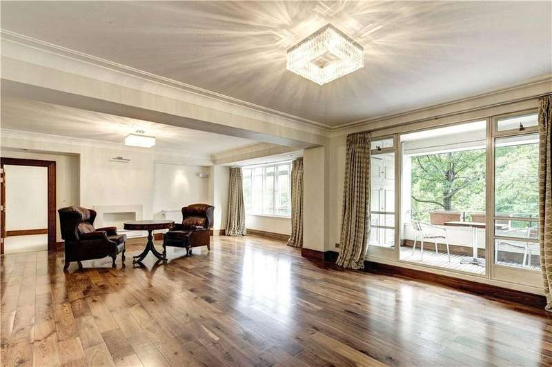4 Bedrooms Apartment Flat for sale in Prince Albert Road, St John's Wood, London, NW8