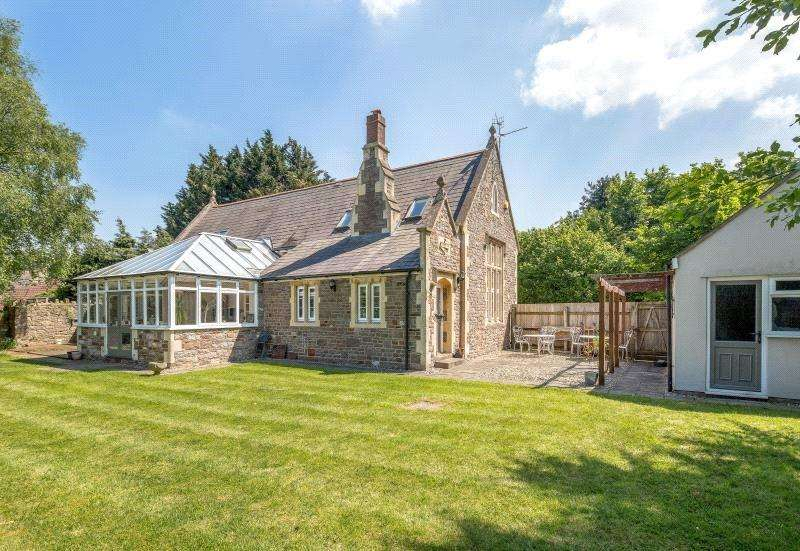 4 Bedrooms Detached House for sale in Main Road, Flax Bourton, North Somerset, BS48