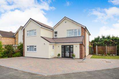 5 Bedrooms Detached House for sale in Quiney Way, Oadby, Leicester, Leicestershire