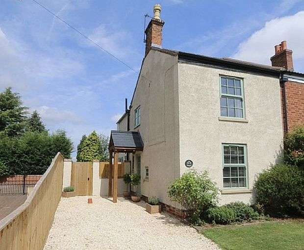 2 Bedrooms Semi Detached House for sale in Broom Hills, Laughterton, Lincoln, Lincolnshire, LN1 2LB