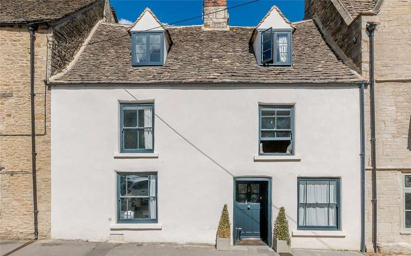 4 Bedrooms Terraced House for sale in Gumstool Hill, Tetbury, Gloucestershire