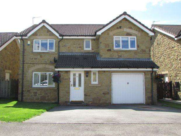 4 Bedrooms Detached House for sale in BONNIE GROVE, BYERS GREEN, SPENNYMOOR DISTRICT