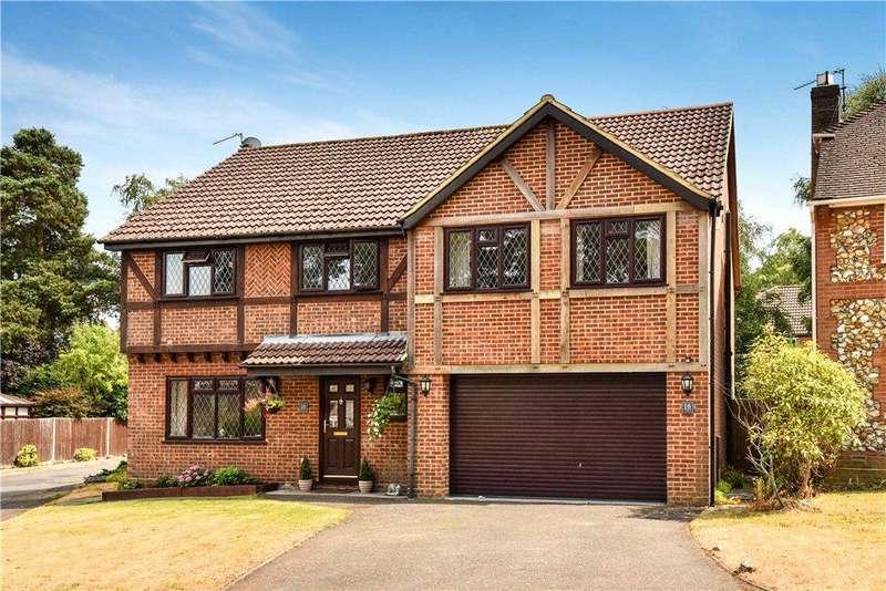 5 Bedrooms Detached House for sale in Butler Road, Bagshot, Surrey, GU19