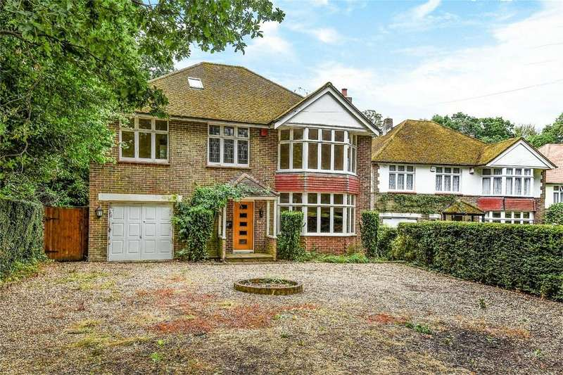 4 Bedrooms Detached House for sale in Lakewood Road, Chandler's Ford, Hampshire