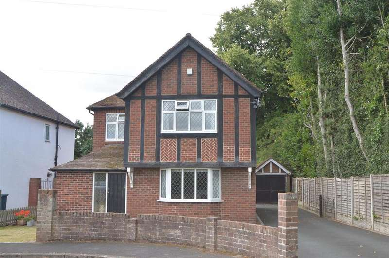 4 Bedrooms Detached House for sale in 98 London Road, plus Building Plot, Shrewsbury SY2 6PN
