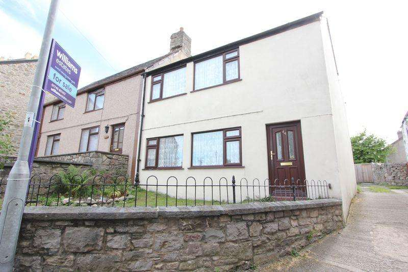 3 Bedrooms Semi Detached House for sale in Castlehill, Denbigh