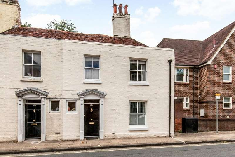 2 Bedrooms End Of Terrace House for sale in St. Cross Road, St. Cross, Winchester, SO23