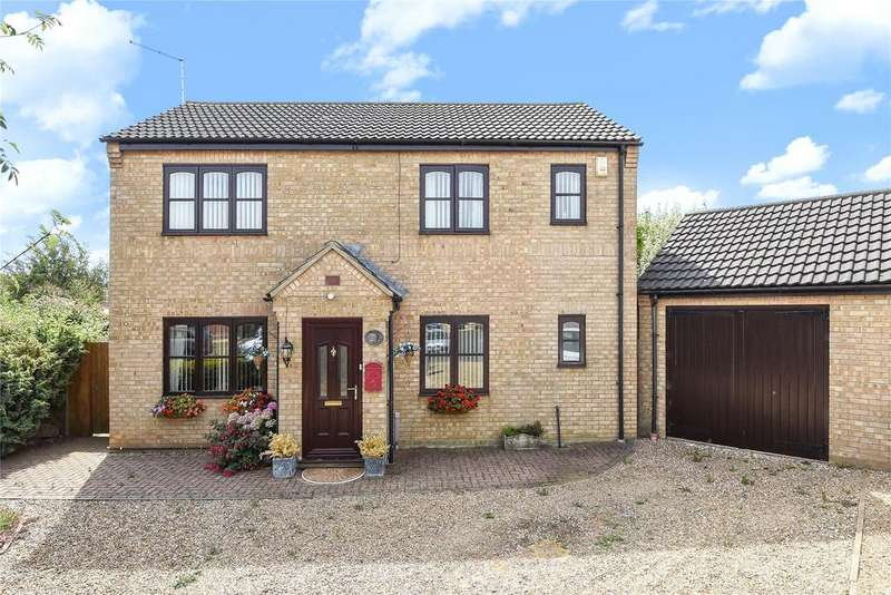 3 Bedrooms Detached House for sale in Larch Way, Sleaford, NG34