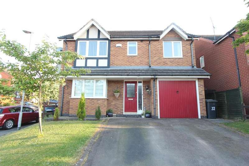 4 Bedrooms Detached House for sale in The Poplars, Earl Shilton