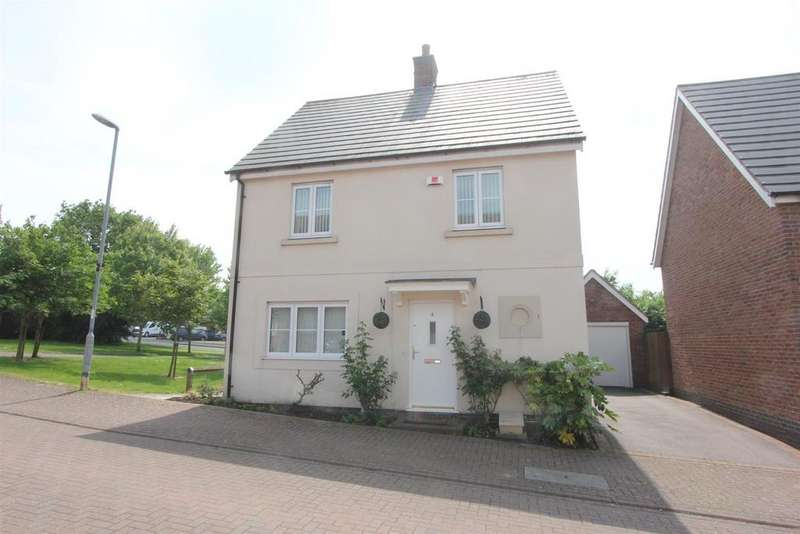 3 Bedrooms Detached House for sale in Gold Close, Hinckley