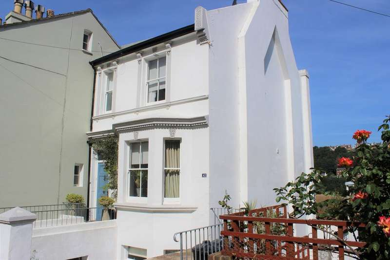 3 Bedrooms End Of Terrace House for sale in Tackleway, Hastings, East Sussex TN34