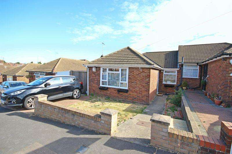 3 Bedrooms Semi Detached Bungalow for sale in Hillary Crescent, Luton