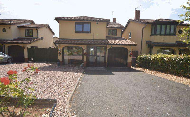 4 Bedrooms Detached House for sale in Verbena Way, Telford