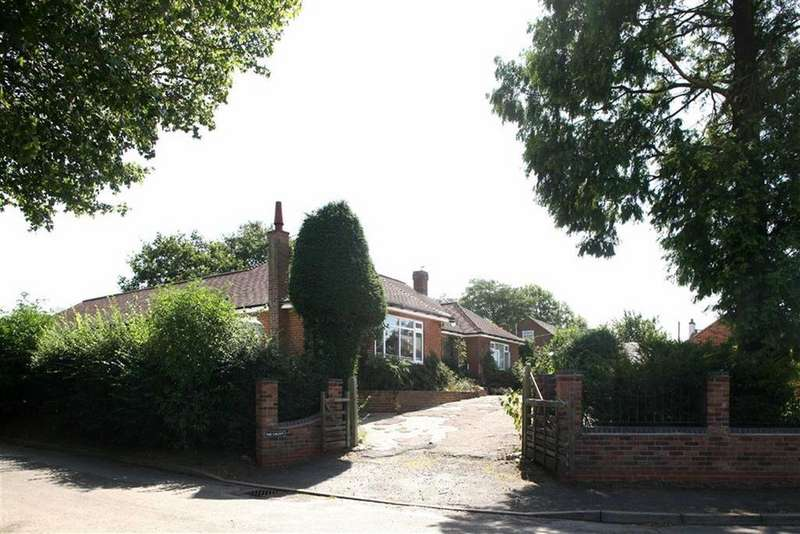 5 Bedrooms Detached Bungalow for sale in Frolesworth Road, Ullesthorpe, Leicestershire