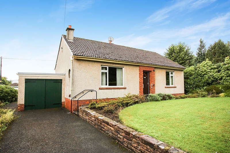 2 Bedrooms Detached Bungalow for sale in Manse Road, Thornhill, DG3