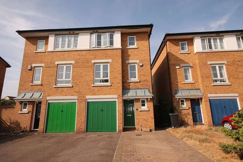 3 Bedrooms Town House for sale in Acorn Way, Bedford, MK42
