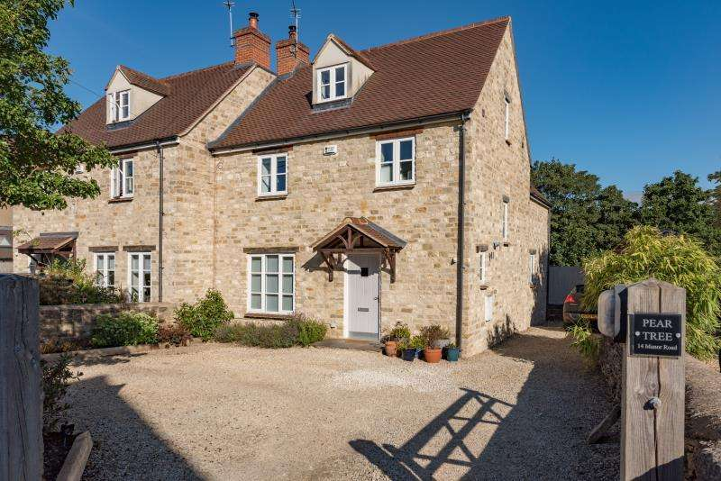 4 Bedrooms Semi Detached House for sale in Pear Tree House, Manor Road, Bladon, Woodstock, Oxfordshire