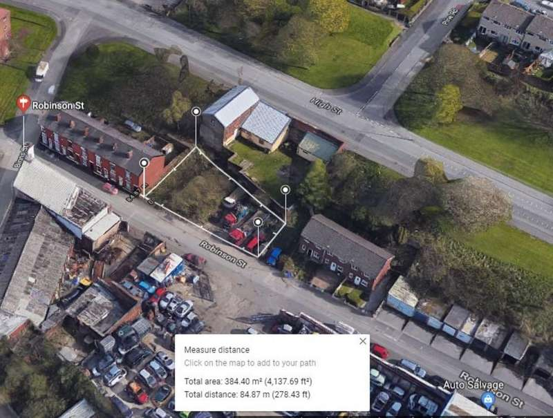 Residential Development Commercial for sale in Robinson Street, Stalybridge
