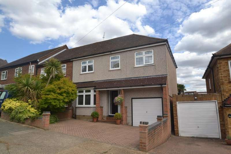 4 Bedrooms End Of Terrace House for sale in Merlin Road, Collier Row