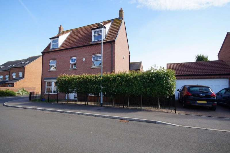 5 Bedrooms Detached House for sale in Ploughmans Lane, Lincoln