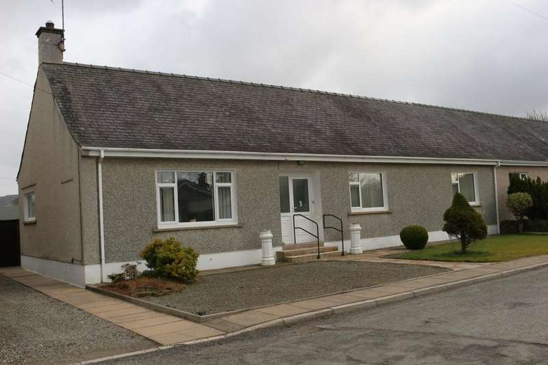 3 Bedrooms Semi Detached Bungalow for sale in Dryfebridge, Lockerbie DG11