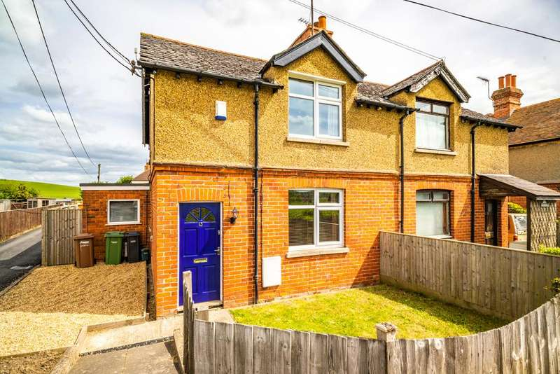 2 Bedrooms Semi Detached House for sale in 13 Wallingford Road, South Stoke, RG8
