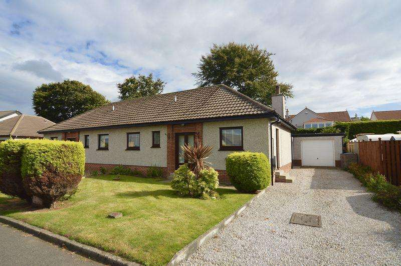 2 Bedrooms Semi Detached Bungalow for sale in Abbots Crescent, Ayr
