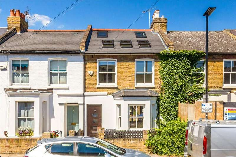 4 Bedrooms Terraced House for sale in Glebe Street, Chiswick, London, W4