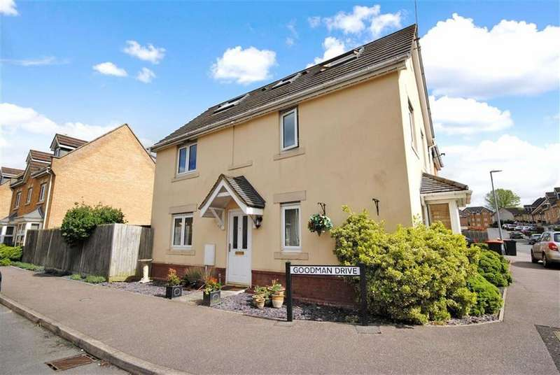 3 Bedrooms Semi Detached House for sale in Goodman Drive, Leighton Buzzard