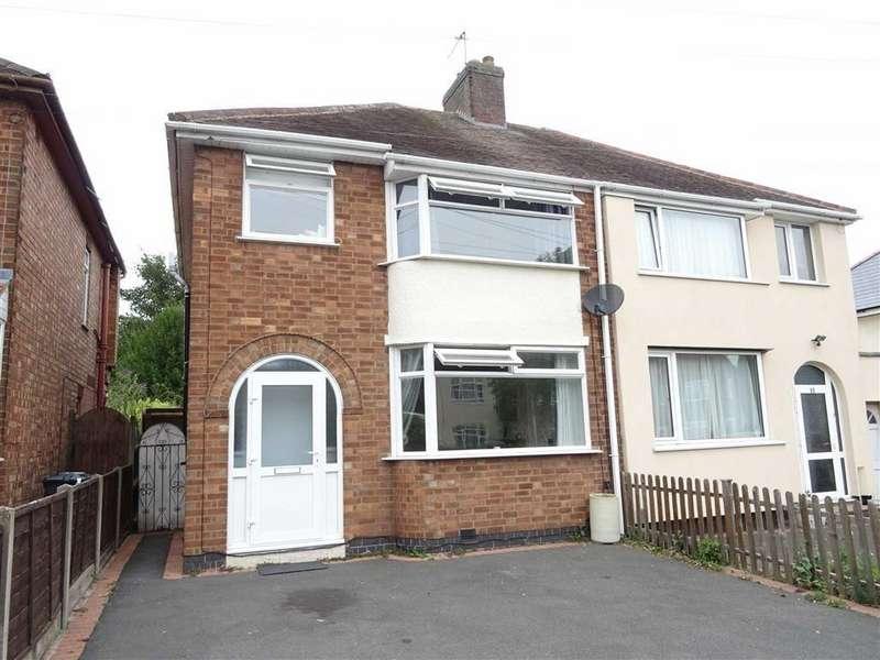 3 Bedrooms Semi Detached House for sale in Belle Vue Road, Earl Shilton