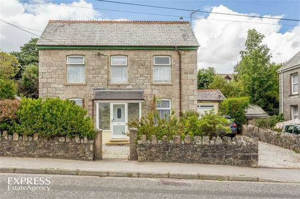 3 Bedrooms Detached House for sale in Stannary Road, Stenalees, St Austell, Cornwall