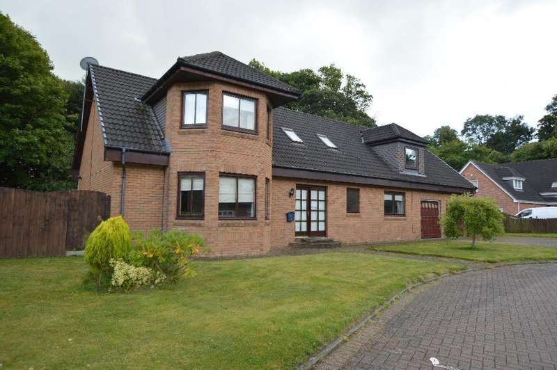 4 Bedrooms Detached House for sale in Barclay Gardens, Irvine, North Ayrshire, KA11 2BZ