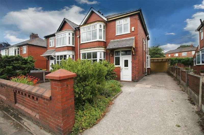 3 Bedrooms Semi Detached House for sale in Crompton Way, Astley Bridge, BOLTON, Lancashire