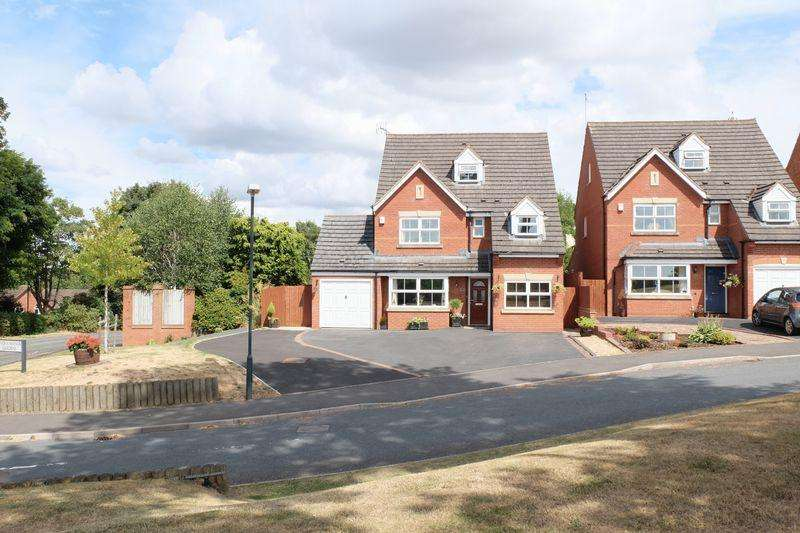 5 Bedrooms Detached House for sale in Severn Manor Gardens, Stourport-On-Severn DY13 0LX