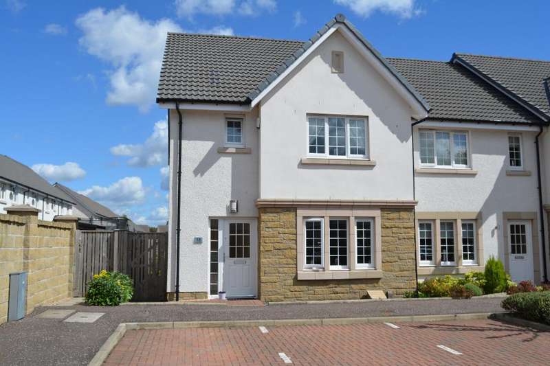 3 Bedrooms End Of Terrace House for sale in Crown Crescent, Larbert, Falkirk, FK5 4XN