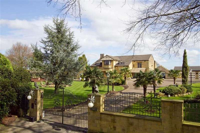 6 Bedrooms Detached House for sale in Harefield Hall, Harefield Drive, Heywood, Lancs, OL10