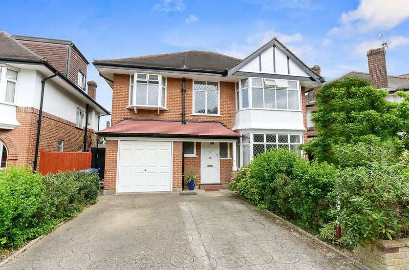 4 Bedrooms Detached House for sale in Elgar Avenue, Ealing, W5