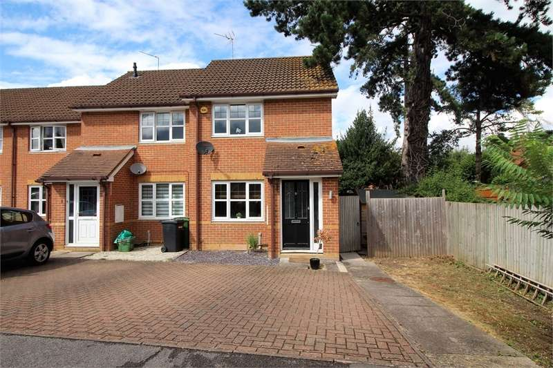 2 Bedrooms End Of Terrace House for sale in Worsley Place, Theale, READING, Berkshire